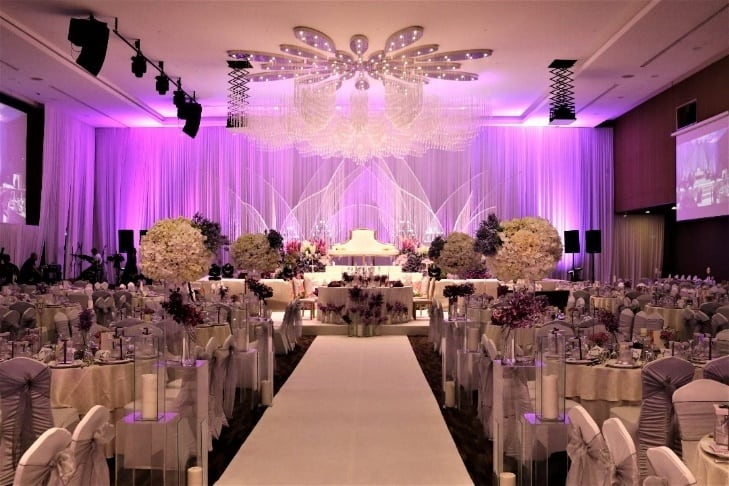 Grand Ballroom that is set to impress your guests. Source: Sime Darby Convention Centre FB
