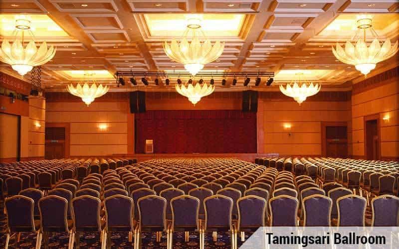 The Tamingsari Ballroom. Source: Royale Chulan Kuala Lumpur