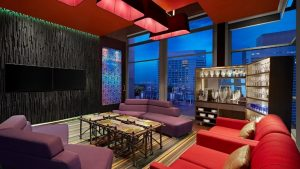 Comfortable Cigar Lounge to hold serious discussions, or chill with a drink or two. Source: Marriott