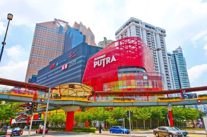 Sunway Putra Hotel together with the colourful Sunway Putra Mall. Source: Sunway Putra Hotel Kuala Lumpur FB