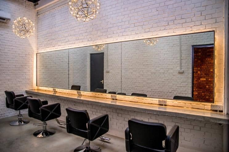 Makeup room, among the facilities offered at Lightbox. Source: Lightbox