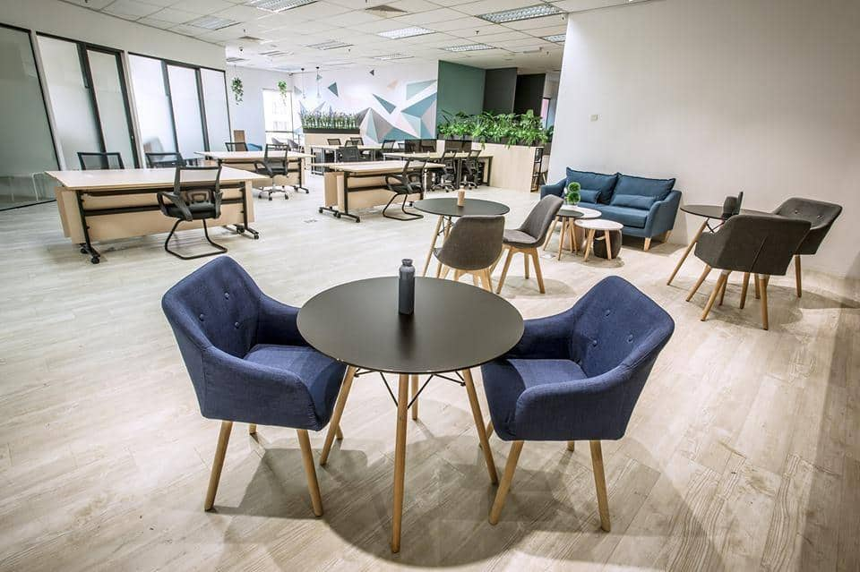 Basic yet vibrant workspaces for the best co-working experience at H Space. Source: H Space FB