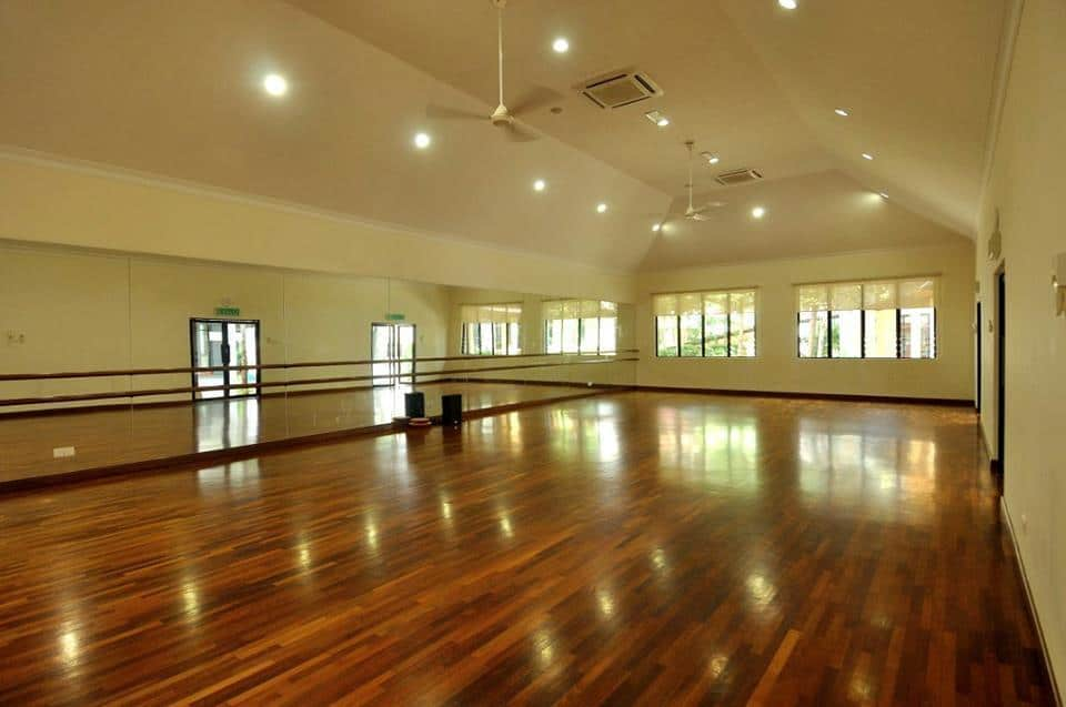 Dance away on the smooth, polished floor at the spacious Studio 1! Source: Pusat Kreatif Kanak-kanak Tuanku Bainun FB